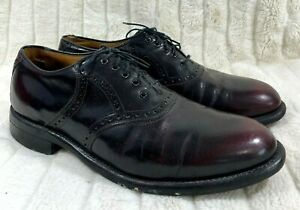 Johnston Murphy Aristocraft Mens Lace Up Leather Oxford Dress Shoes Size 11.5