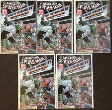 5 Amazing Spider-Man 666 Clockwork Comics & Cards store Variant Rare lot NM