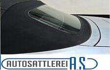 BMW E30 Cabrio Heckscheibe mit Reißverschluss für das original Verdeck