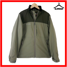 Columbia Chaqueta para hombre M mediano Verde Caqui Softshell Impermeable Sportswear
