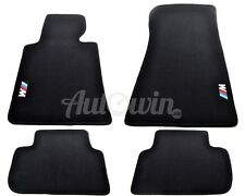 BMW 3 Series E46 Black Carpets With /// M Emblem 1997-2006 Tailored LHD