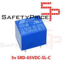 Rele 5v 10A SRD-05VDC-SL-C PCB soldar superficie power relay REF2034