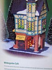 "Dept. 56 Christmas In The City ""Wintergarten Cafe"" 1999 New In Box !"