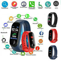 M3X Smart Band Watch Bracelet Wristband Fitness Tracker Blood Pressure HeartRate