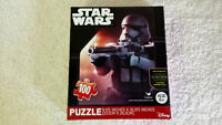 NEW Disney Star Wars The Force Awakens Puzzle, 100 Pieces, Storm Trooper