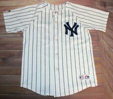 New York Yankees Johnny Damon #18 MLB Baseball Jersey Youth Medium Majestic