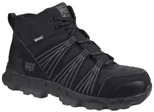 Timberland Pro Powertrain Mid Safety Work Boots Black Anti fatigue Sole 6-12