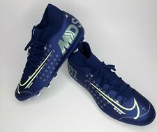 NIKE SOCCER CLEATS SUPERFLY 7 CLUB SIZE 12 BLUE