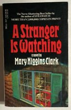 A STRANGER IS WATCHING by Mary Higgins Clark (1979)  Dell mystery pb