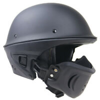 Type Bell Style Rogue Motorcycle Half Helmet 100% Authentic Dot Certified