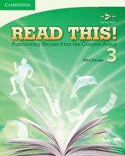 READ THIS! Level 3 Student Bk. Fascinating Stories from Content Areas ESL NEW!