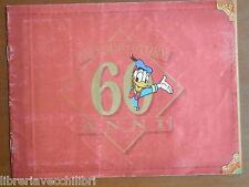 Vecchio album di figurine PAPERINO STORY 60 anni allegato TOPOLINO 2006 1994 del
