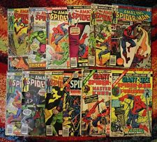Amazing Spider-Man Vintage 1970s Lot / Marvel Comics