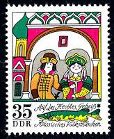 1906 postfrisch DDR Briefmarke Stamp East Germany GDR Year Jahrgang 1973
