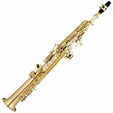 Soprano saxophone Bb Key Woodwind Instrument With Case Mouthpiece Reed