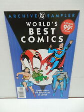 World's Best Comic Books DC Archives Sampler Superman Batman Joker Wonder Woman