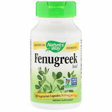 2x Fenugreek Seed, 610 mg, 100 Vegetarian Capsules - Nature's Way