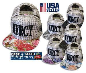 Mercy Baseball Cap Hat Hip Hop Snapback Adjustable Praying hands straw style new
