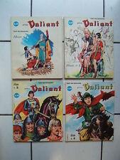 EDITION DU REMPARTS /  RELIURE PRINCE VALIANT 1 A 4  / NUMEROS 1 a 12