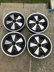 Porsche Fuchs Reproduction 6x15 Alloy Wheels VW