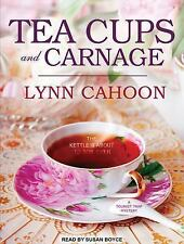 Tourist Trap Mystery: Teacups and Carnage 7 by Lynn Cahoon (2016, MP3 CD,...