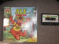 Vintage~Talking Alf Storytelling Alien Cassette Tape & HTF Book ALF Goes Wild