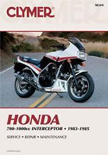 CLYMER REPAIR MANUAL Fits: Honda VF700F Interceptor,VF1000F Interceptor,VF750F V