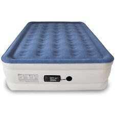 Air Mattress Queen Size Bed Inflatable In Bedroom Camping Pump Airbed Bag