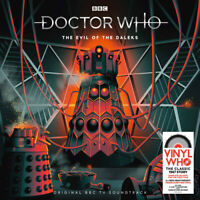 "Doctor Who - The Evil of the Daleks VINYL 12"" Album Box Set 4 discs (2019)"