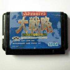 ADVANCED MILITARY COMMANDER DAISENRYAKU -Jeu Megadrive/ Game for Sega Mega Drive