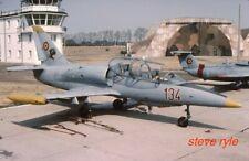 MILITARY AIRCRAFT SLIDE - L-39ZA ROMANIAN AF 134B - 2001