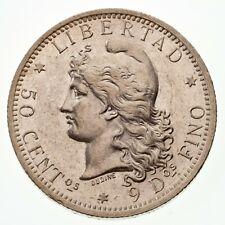 ARGENTINA BLISTER COIN 50 Centavos Martin de Guemes KM129.2 UNC 2000