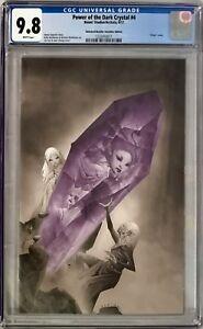 Power of the Dark Crystal #4 CGC 9.8 Jae Lee 1:30 Unlocked Incentive Variant!