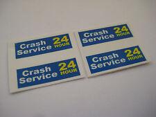 Corgi Juniors 31 - 24Hour Crash Service Land Rover Pickup Truck Stickers - B2G1F
