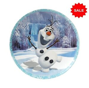 Disney Enchanting Collection Wall Plate Warm Hugs Olaf From Frozen Elsa And Anna
