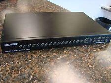 American Dynamics DMV96Q 16-Channel Color Video Duplex Multiplexer Security