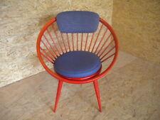 Danish Modern Circle Chair Björkman Ekström swedese 50er Lounge sillón Dinamarca