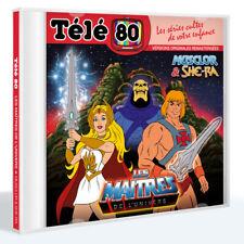 CD TELE 80 Les Maîtres de l'univers  Musclor & She-Ra He-man  Précommande MARS