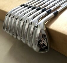 Callaway X-Tour Forged Irons 3-PW Rifle 5.5 Firm Flex Steel Golf Club Set