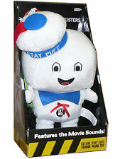 "GHOSTBUSTERS STAY PUFT HAPPY 15"" DELUXE Plush Sound Talking Doll Underground Toy"