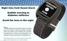 Low Blood Sugar Wrist Worn Alarm Hypoglycaemia Monitor Cold Sweat Alarm Diabetes