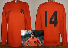 HOLLAND '73 football shirt retro remake JOHAN CRUYFF Ajax Barcelona Netherlands