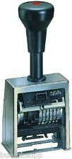 REINER B6 Paginierstempel 6-stellig H 4,5mm B 23mm Paginierer NEU & OVP