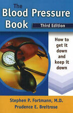 NEW The Blood Pressure Book: How to Get It Down and Keep It Down