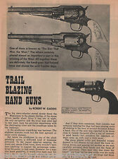 Trail Blazing Hand Guns-Colt Pistols Of The West+Billy The Kid,Garrett,Gaddis