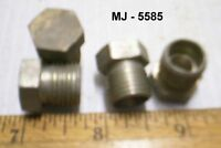 Lot of 4 - Metal Plugs (NOS)