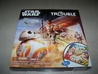 New Collectible Hasbro Pop O Matic Disney Star Wars Trouble Board Game