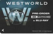 HBO Westworld 2017 Exclusive Hotel Key Card
