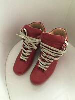 Original Maison Martin Margiela at H&M High Top Sneakers in Rot EUR 41 size US 8