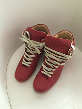 ORIGINALE Maison Martin Margiela at h&m High Top Sneakers In Rosso EUR 41 size US 8